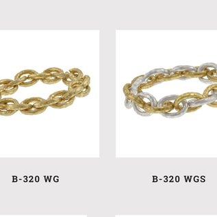Accessorizit BR Elastic Link w/hammered Texture