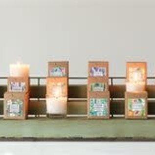 Creative Co-Op Glass Candle incV 7oz.