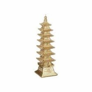 "RAZ ORN - Pagoda 5.75""H"