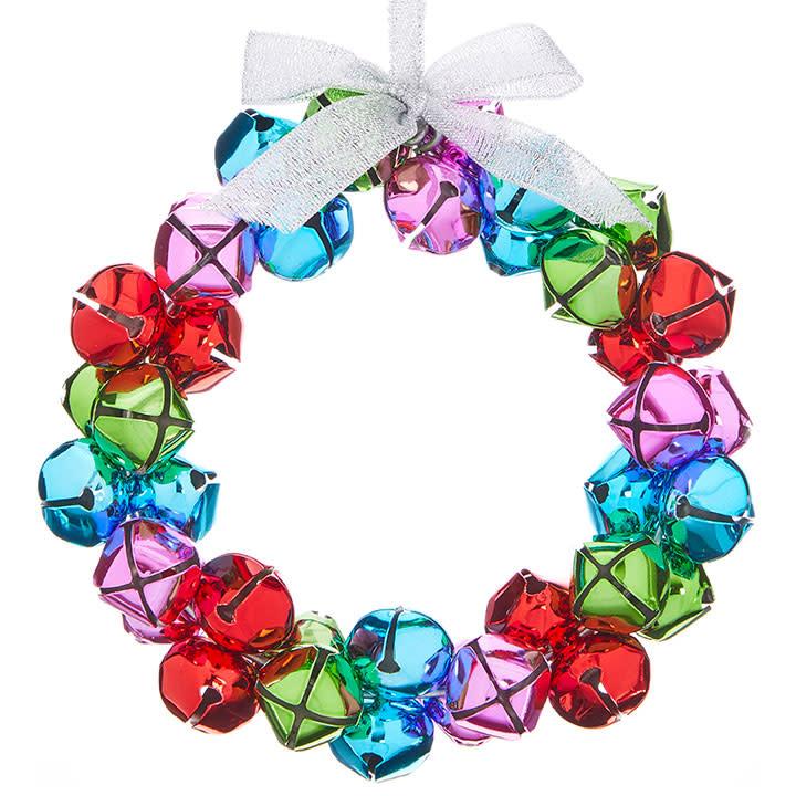 "RAZ ORN Bell Wreath - 5"""