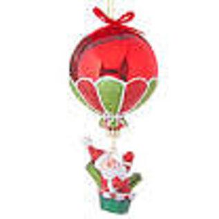 RAZ ORN Santa in Hot Air Balloon 6in
