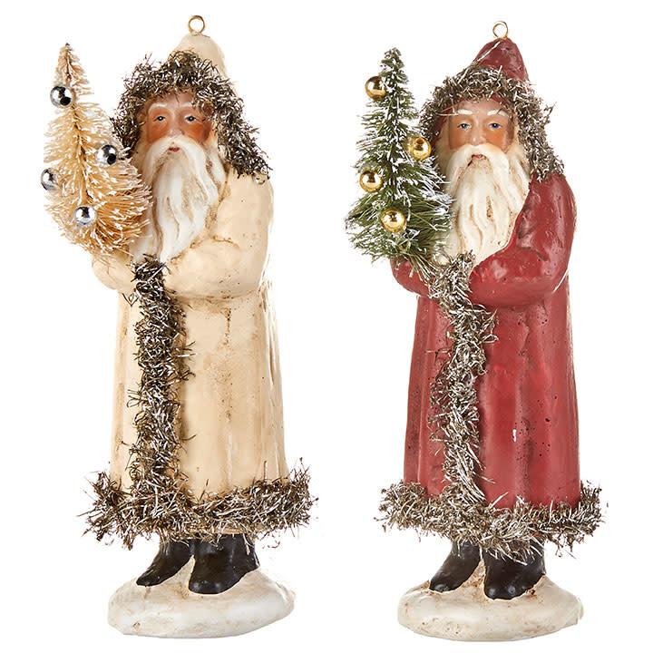 "RAZ ORN Father Christmas 6"""