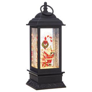 "RAZ LED Water Lantern 11""Hx4""W"