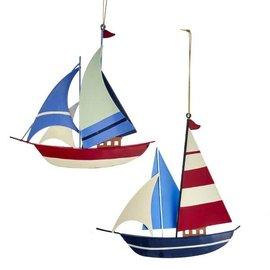 "Kurt Adler ORN Sailboat 5"""