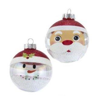 Kurt Adler ORN Santa/Snowman