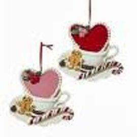 Kurt Adler ORN Mug w/Heart Cookie