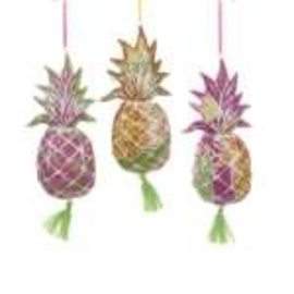 Kurt Adler ORN Porcelain Pineapple