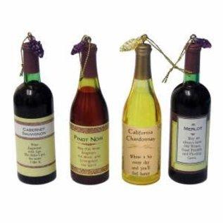 Kurt Adler ORN Wine Bottle