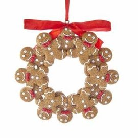 Kurt Adler ORN Gingerbread Wreath