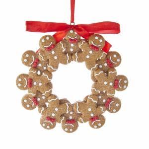 Kurt Adler ORN Gingerbread Wreath