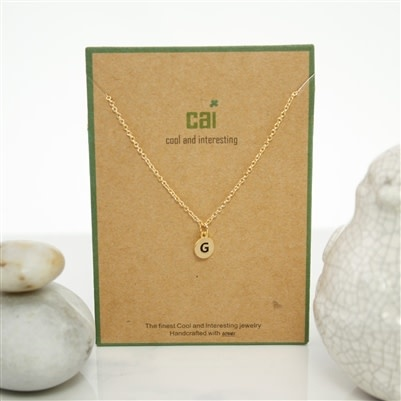 Cool and Interesting Dainty Charm NK (Brass)