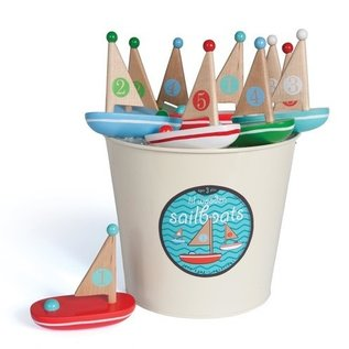 Jack Rabbit Creations Little Wooden Boat Nautical
