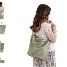 Joy Accessories Riley Reversible Slouchy Tote