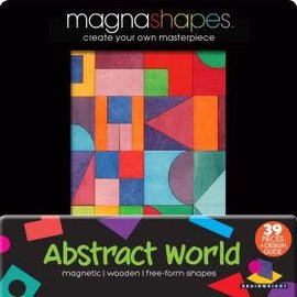 CEACO-Gamewright Magna Shapes Puzzles Ast/3