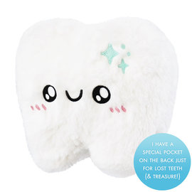 Squishable, Inc. Mini Squishable Tooth, Tooth Fairy Style
