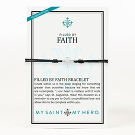 My Saint My Hero BR Filled by Faith Open Cross