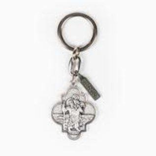 My Saint My Hero Key Ring
