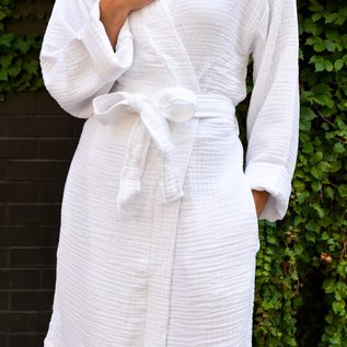 Olive & Loom Personalized Cloud Cotton Robe