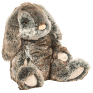 """Douglas Toys Large Lux Bunny (14"""" Tall Sitting)"""