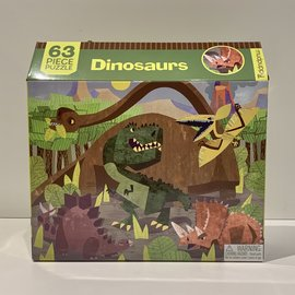 Mudpuppy Mighty Dinosaurs Jumbo Puzzle 25pc Age 2+