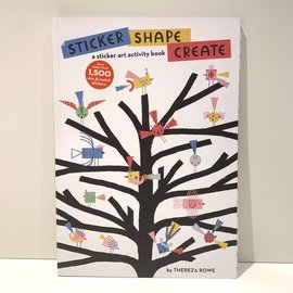 Hachette Book Group Sticker Shape Create Activity Book