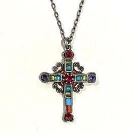 Firefly 8760-MC CROSS Ornate NECK Firefly