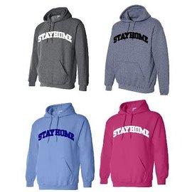 Gildan STAYHOME Hoodie Sweatshirt