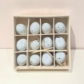 "The Royal Standard Petite Decorative Speckled Eggs - 1"" set of 12 43463"