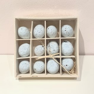 """The Royal Standard Petite Decorative Speckled Eggs - 1"""" set of 12 43463"""