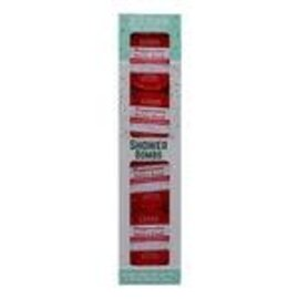 Rinse Bath & Body 4 Pack Shower Bomb Box- Peppermint