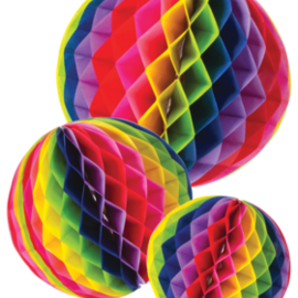 Party Partner Design Honeycomb Tissue Balls (Set/3)