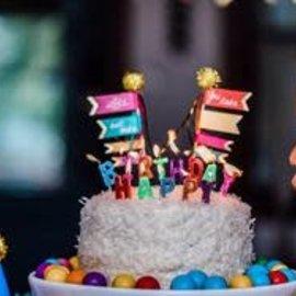 Party Partner Design Happy Birthday Candle Set