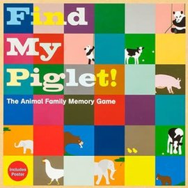 Laurence King Find My Piglet! Animal Family Memory Game