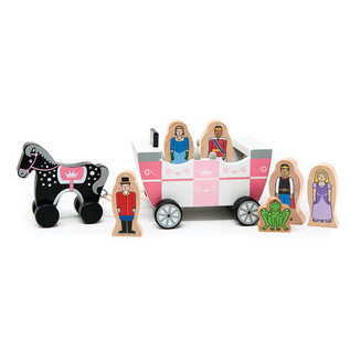 Jack Rabbit Creations Royal Family Magnetic Carriage (age 3+)