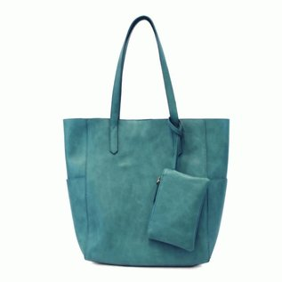 Joy Accessories Bella Vegan Leather Tote (with Bonus Bag)