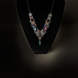 Firefly Elaborate Multicolor Necklace