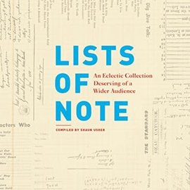 Chronicle Lists of Note