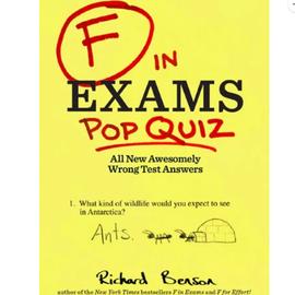 F in Exams: Pop Quiz