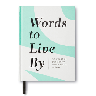 Words to Live By - Guided Journal