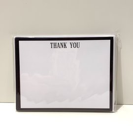 Thank you, Notecards & Env. Black Border (pkg/10)
