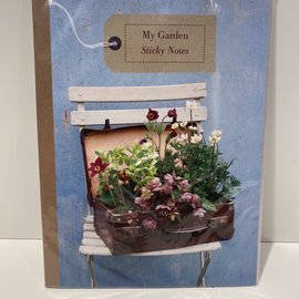 Workman Publishing Co My Garden Sticky Notes