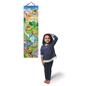 Eeboo Grow Like a Dinosaur, Personalized Growth Chart