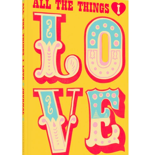 All the Things I Love - Journal
