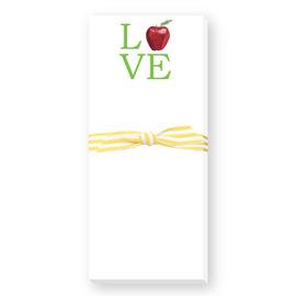 Donovan Designs, LCC Teacher Love Skinnie Notepad