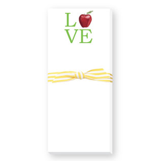 Donovan Designs, LCC Teacher Love Skinnie Notepad