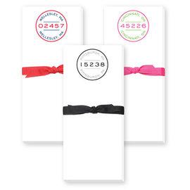 Donovan Designs, LCC Skinnie Notepad 60044 Zip Badge