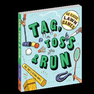 Tag, Toss & Run-40 Classic Lawn Games