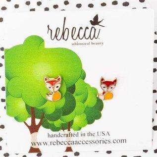 Rebecca - Whimsical Beauty EAR Kids Whimsical Enamel Fox