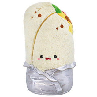 Comfort Food Burrito Gifted Lake Forest ✨ cuddly corgis, avocados, unicorns, & more! squishable inc comfort food burrito