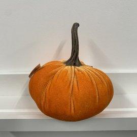 DCI Chenille Pumpkin Orange 6in H